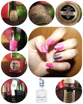 manichiura-magnetica-oja-China-Glaze-Polarized-oja-holografica-oja-cu-sclipici-China-Glaze-Luxe-and-Lush-Kallos-92-Flormar-Magnetic-twist-MG-07-Rimmel-Matte-Finish