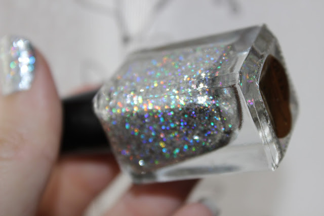 F.U.N. LACQUER QUEEN FOILED NAIL POLISH bottle