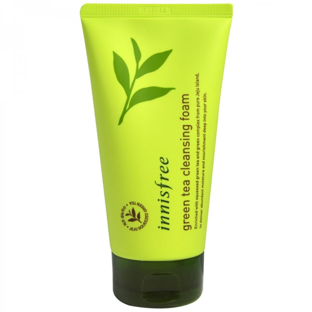 innisfree-green-tea-cleansing-foam